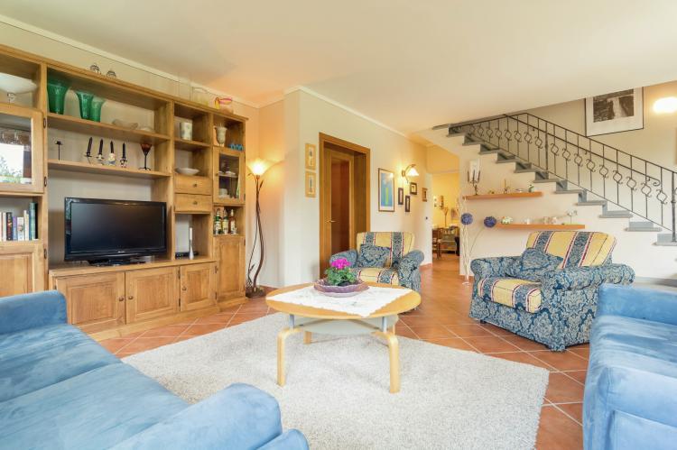Villa a Loro Ciuffenna - Italië - Toscane - 12 personen - woonkamer