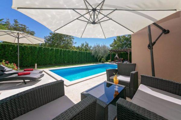Villa Dani - Kroatië - Istrië - 12 personen - tuin met privé zwembad