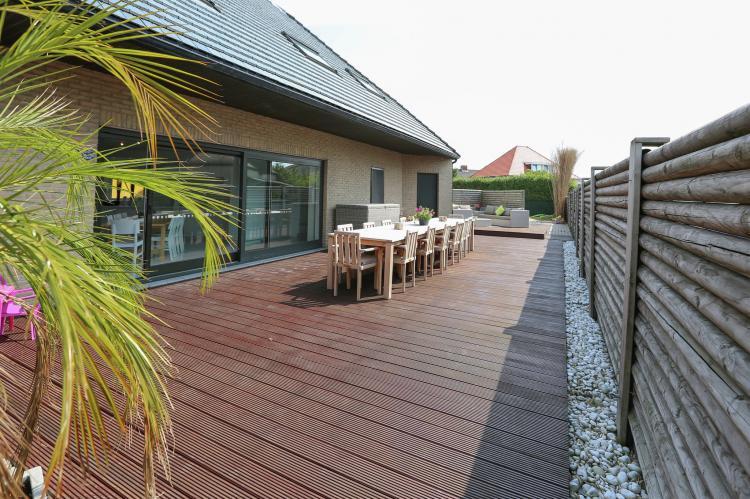 Villa Miami - Belgie - West-Vlaanderen - 20 personen - omheind terras